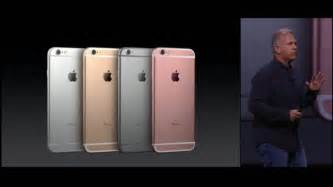 iphone 6s color apple unveils iphone 6s pro apple pen new apple tv