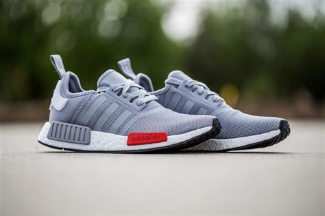 Sepatu Adidas Nmd Runner Grey White adidas nmd mesh black grey navy sneaker bar detroit