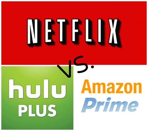 media comparisons netflix hulu plus and
