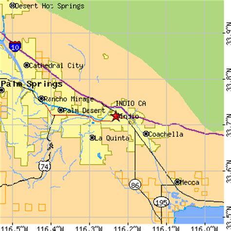 california map indio indio california ca population data races housing