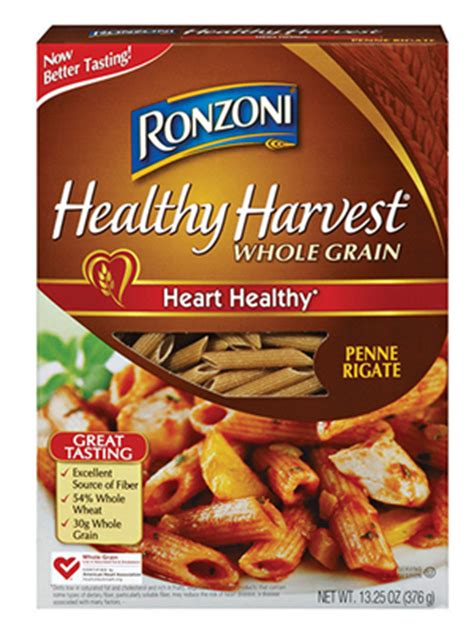 whole grain ziti ronzoni healthy harvest whole grain penne review