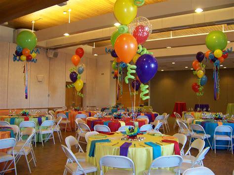 colorful ideas colorful balloon centerpieces bar bat mitzvahs
