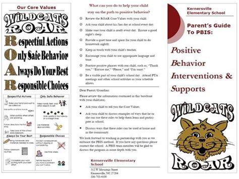 Pbis Pbis Parent Brochure Parent Brochure Templates