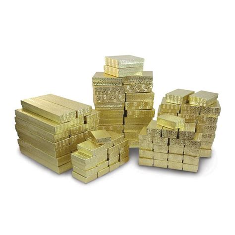 where can i buy jewelry supplies cotton filled jewelry boxes assortment gold where can i