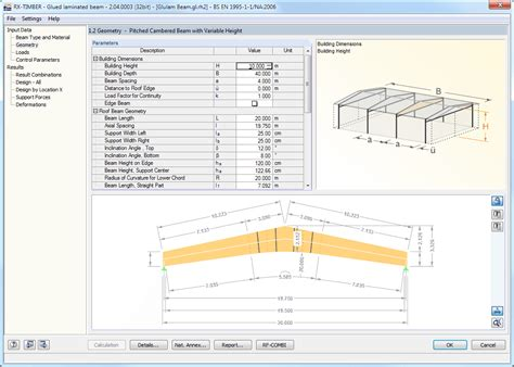 Dlubal Rx Timber rx timber glued laminated beam design of glulam beams dlubal software
