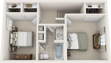 bedroom floor plans charleston hall apartments