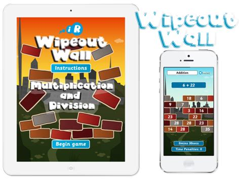 app design nottingham primary games wipeout wall apps gooii website design