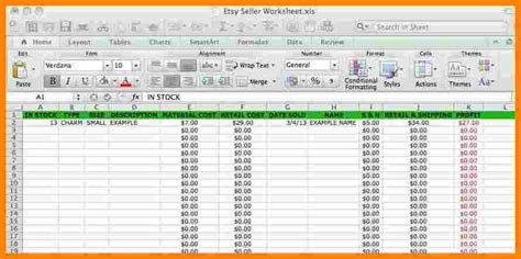 Jewelry Inventory Spreadsheet Template by 3 Jewelry Inventory Spreadsheet Free Balance Spreadsheet