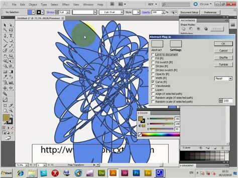 tutorial after effect cs2 tutorial abstract plugin art effect for illustrator cs5