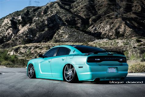 light blue dodge charger dodge charger rt blue daytona modified cars tuning wheels
