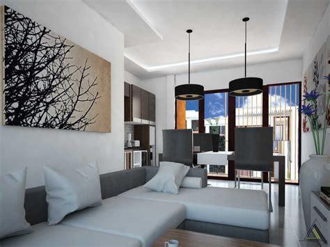 desain interior ruang tamu  kamar tidur rumah sederhana
