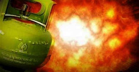 Selang Tabung Gas 3 Kg tabung gas 3 kg meledak di kali baru enam orang terluka okezone news