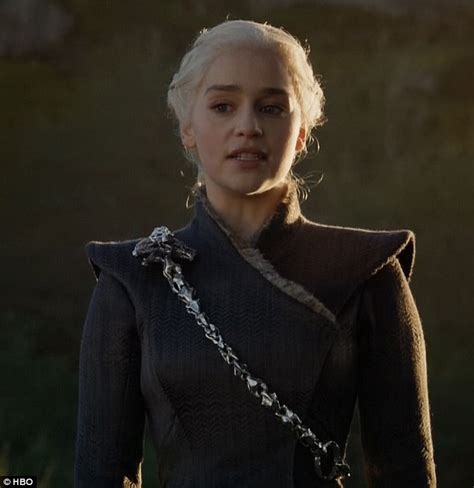 actress game of thrones dragon queen daenerys targaryen rules on game of thrones daily mail