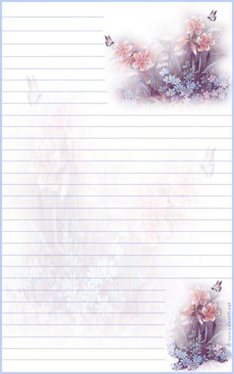 Modèles De Papier à Lettre Gratuit Papier 224 Lettre 224 Imprimer Fleurs