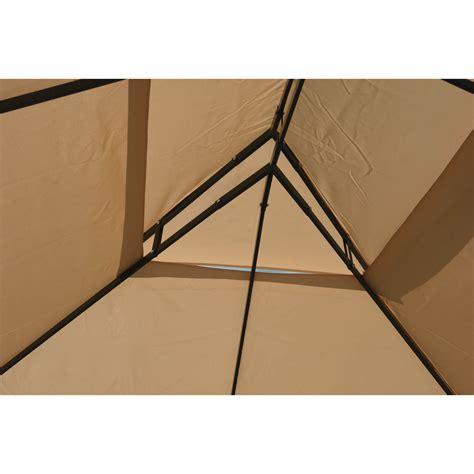 metall pavillon 3x4 gartenpavillon metallpavillon 3x4 meter beige