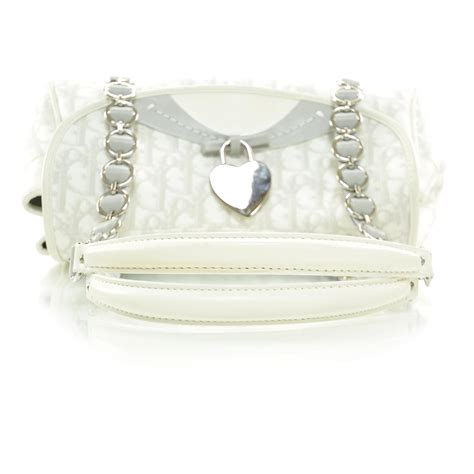 Christian Trotter Romantique Flap Bag by Christian Monogram Romantique Trotter Flap Bag 26557