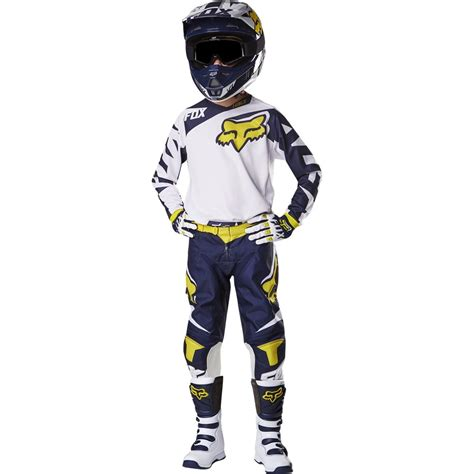 youth fox motocross gear fox racing 2016 youth 180 race jersey and pant package
