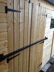 shed security bar 1500mm galvanised timber buildings shop