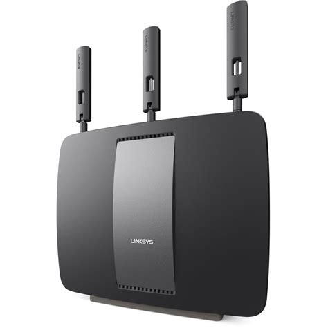 Router Smart Linksys Ea9200 Ac3200 Tri Band Smart Wi Fi Router Ea9200 4a B H