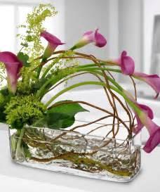 Modern Vase Arrangements Calla Lily Cascade Calla Lilies Luxury Beneva