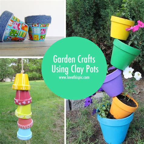 Garden Crafts by Garden Crafts Using Clay Pots