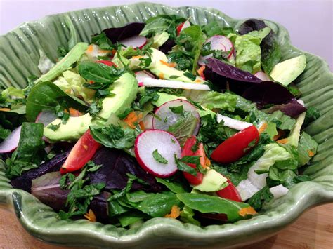 green salad with creamy chipotle lime dressing life of the party always