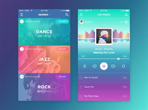 home network design app music app by ludmila shevchenko dribbble