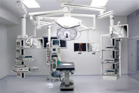 Surgical Room by Surgical Monitors Displays Hybrid Operating Rooms