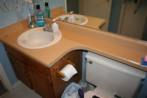 things we swear happened diy bathroom remodel before after
