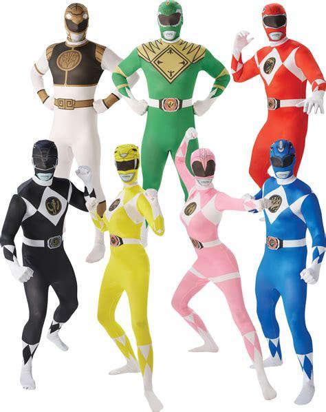 adults power rangers mens fancy dress