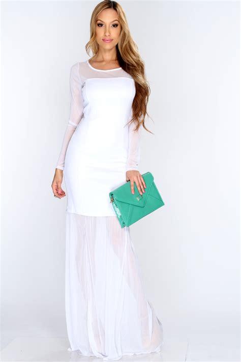 Longdress Maxi Dress white maxi dress dressed up