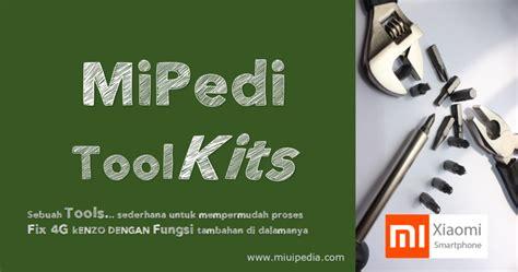 mipedi toolkits redmi note  pro kenzo  ubl