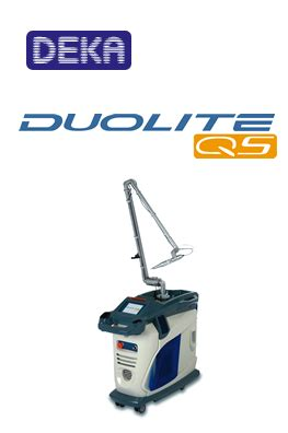 duolite q switched laser high tech laser tattoo removal high tech laser