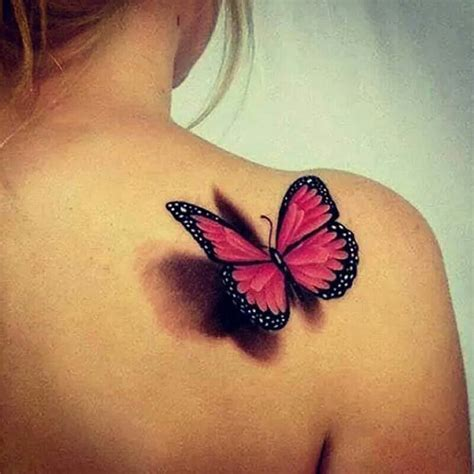 cool 3d tattoos 3 d butterfly cool tattoos 3d