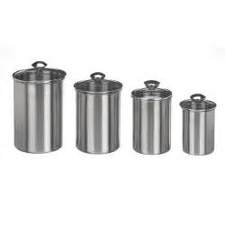 Kitchen Canister Sets Walmart Mainstays Canister Set 4pc Kitchen Amp Dining Walmart Com