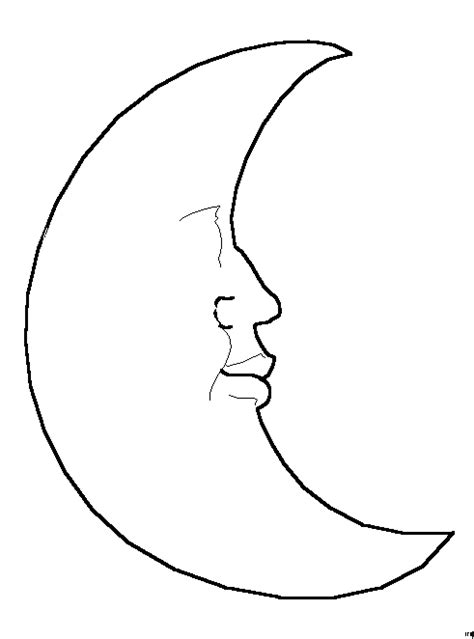 Moon Coloring Pages Moon Coloring Page