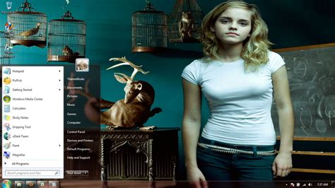 emma watson themes for windows 8 1 emma watson windows 7 theme by freewindows7themes on