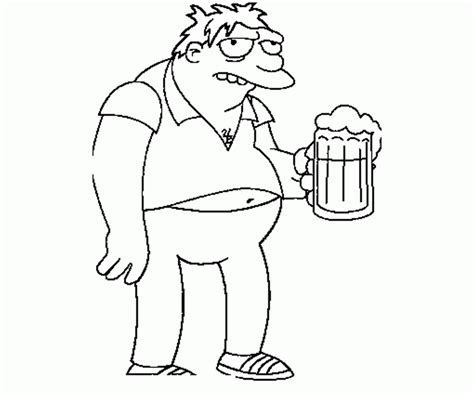 simpsons house coloring page simpsons coloring page coloring home