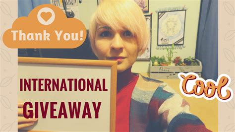 International Giveaway - closed international giveaway bullet journal kit