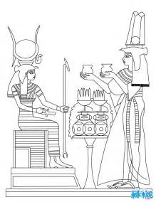 egyptian gods coloring pages egyptian art pinterest