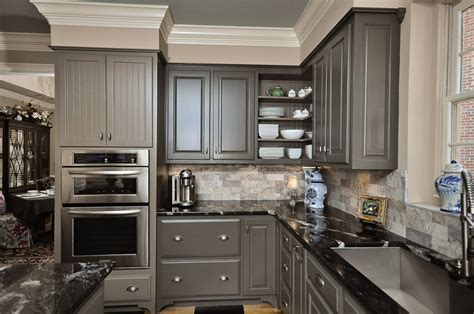 kitchen wall color with gray cabinets contemporary gray kitchen cabinets beautiful gray