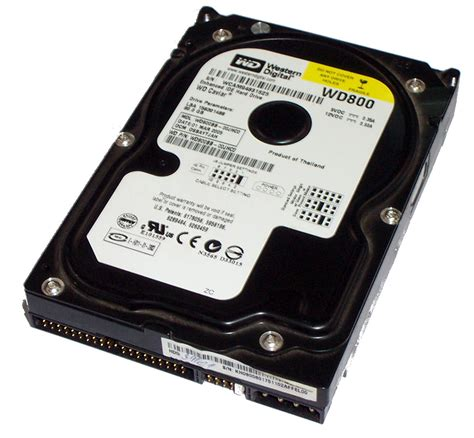 Hardisk 80gb Ata Second western digital wd800bb 00jhc0 80gb ata 100 7200rpm 3 5 quot disk drive