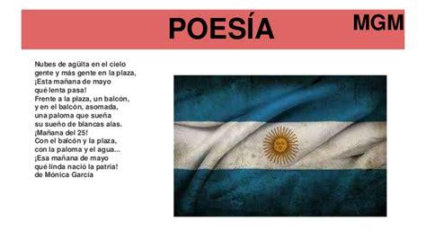 poesias del 25 de mayo de 1810 para nios costumbres del 25 de mayo de 1810
