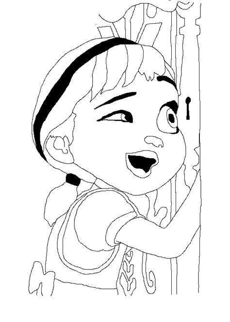 anna coloring pages pdf frozen para colorear pintar e imprimir