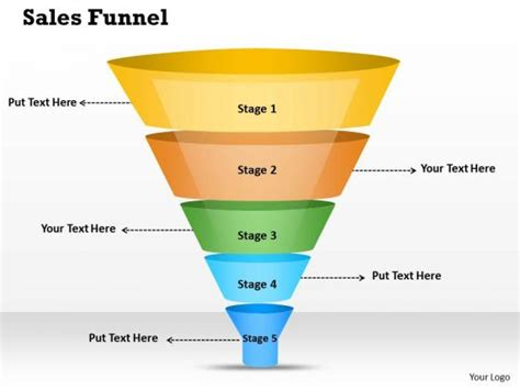 sales funnel template powerpoint free download briski info