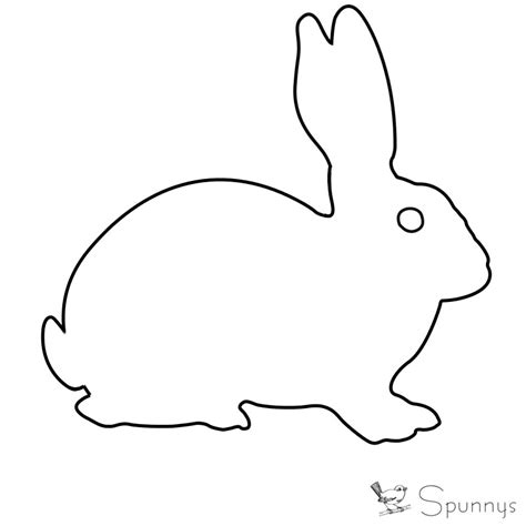 rabbit simple simple rabbit outline www pixshark images