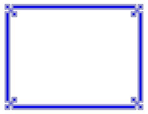 blue certificate template 15 new blue border certificate templates blank certificates