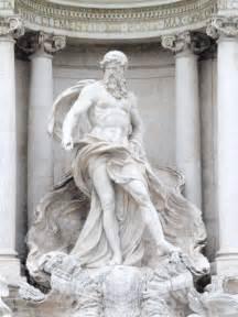 Greek God Statue Oceanus A Titan In Greek Mythology