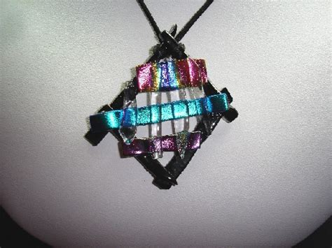 how to make dichroic glass jewelry at home glass how to make dichroic jewelry