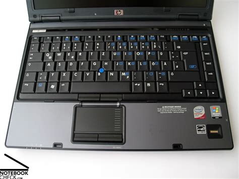 Casing Touchpad Compaq 6910p Review Hp Compaq 6910p Notebook Notebookcheck Net Reviews